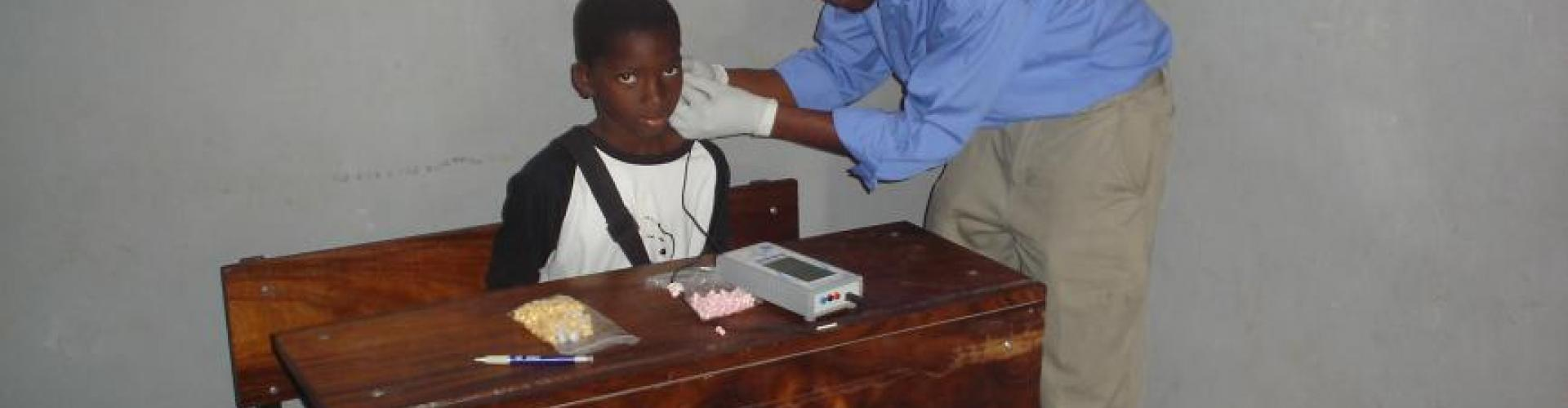Hearing Screening in Maxixe Primary School,Mozambique