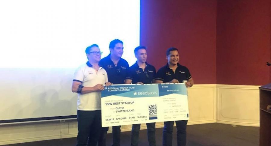 1st prize Seedstars World (Ecuador)