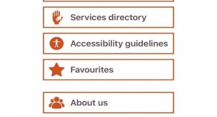 The app and website has many features, besides finding the venues / locations on the map or in a list, it also includes a Disability Services Directory, and Accessibility Guidelines on how to organise an accessible event or build an accessible exhibition stand.