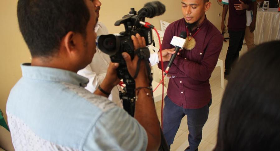 Promoting disability issues through the media in Timor Leste