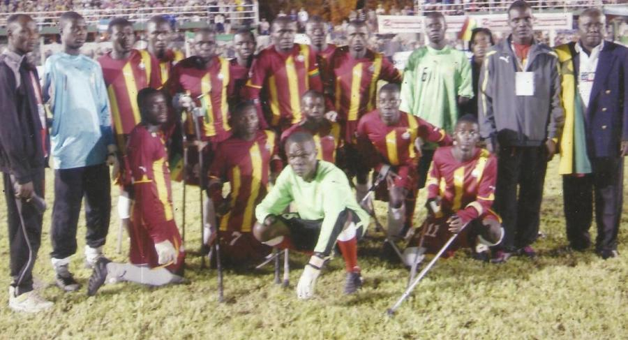We won the first African amputee cup of nations