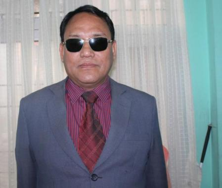 Director of Nepal Association of the Blind (NAB)